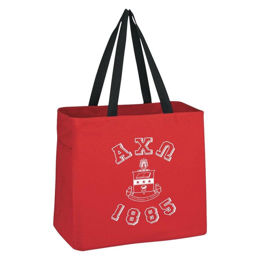 Alpha Chi Omega Block Crest - Shield Cape Town Bag