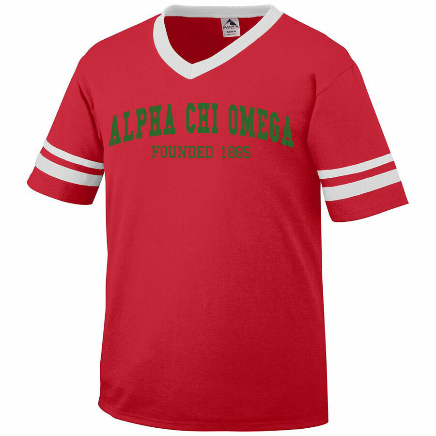 Alpha Chi Omega Boyfriend Style Founders Jersey