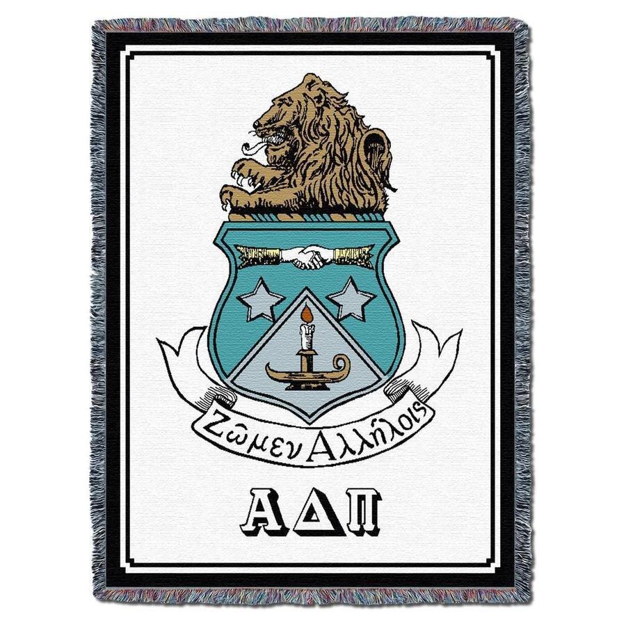 Alpha Delta Pi Afghan Blanket Throw