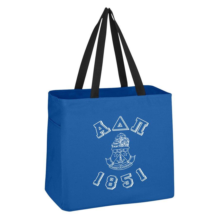 Alpha Delta Pi Block Crest - Shield Cape Town Bag