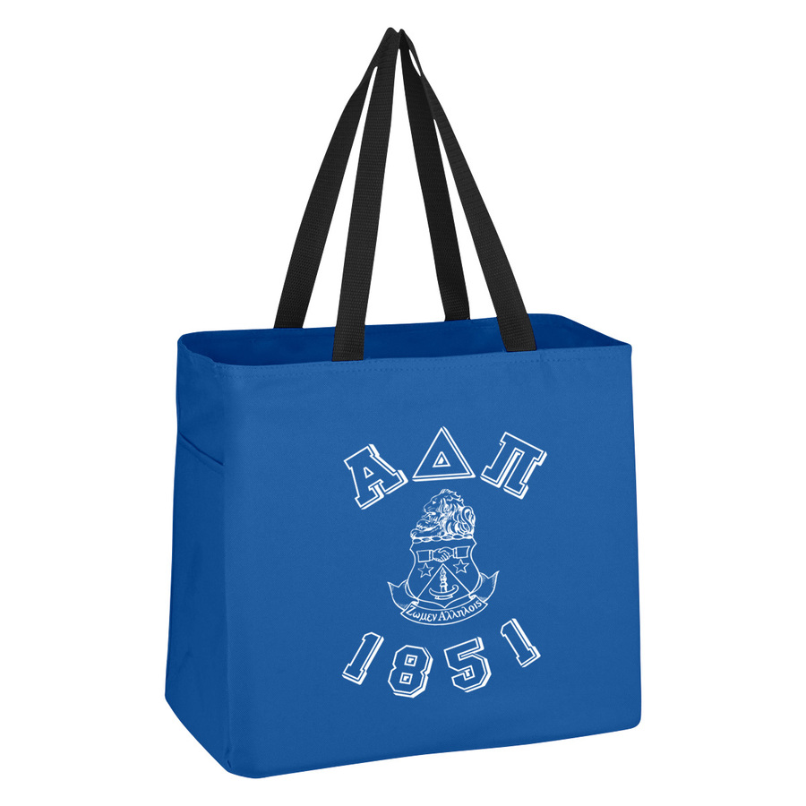 Alpha Delta Pi Block Crest - Shield Cape Town Bag
