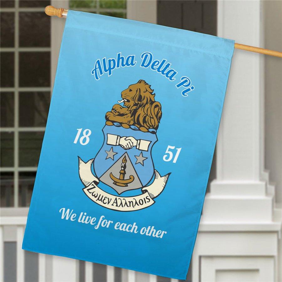 Alpha Delta Pi House Flag