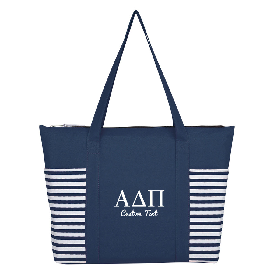 Alpha Delta Pi Maritime Tote Bag