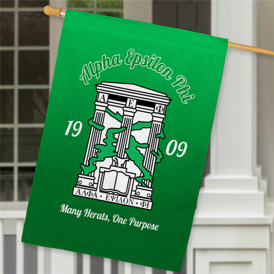 Alpha Epsilon Phi House Flag
