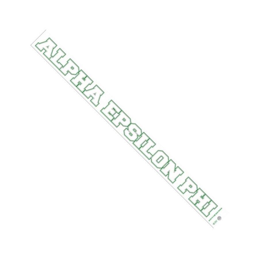 Alpha Epsilon Phi Long Window Decals Stickers