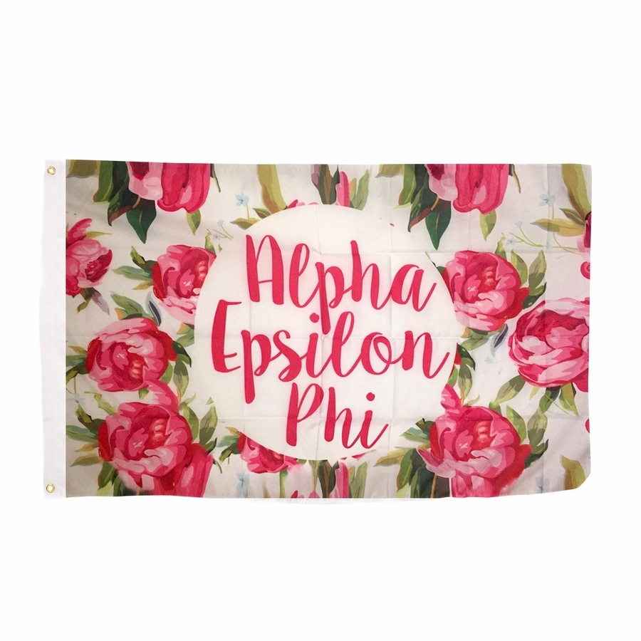 Alpha Epsilon Phi Rose Flag