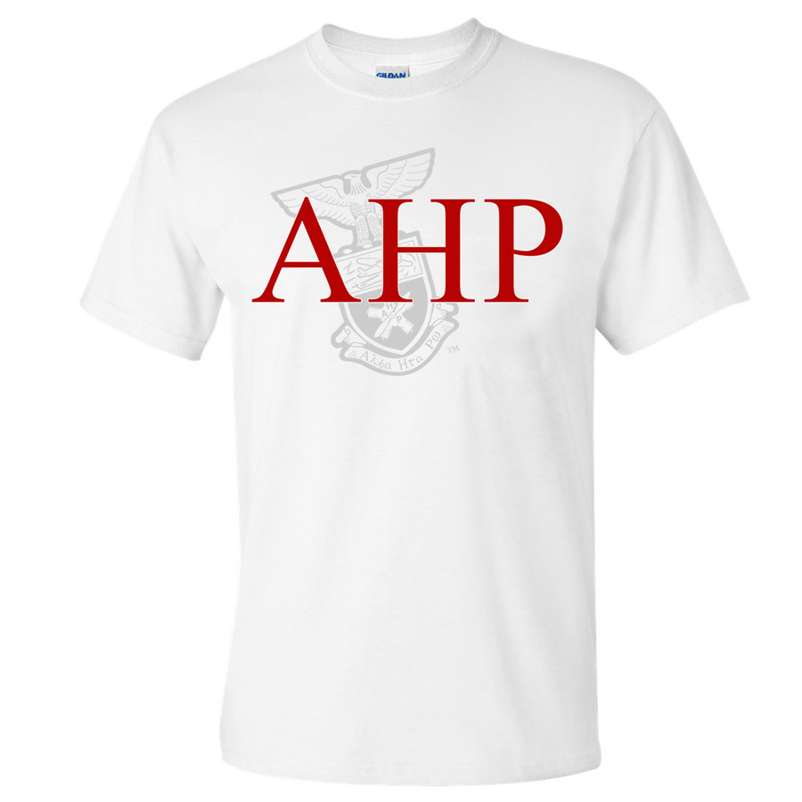 Alpha Eta Rho Greek Crest - Shield T-Shirt