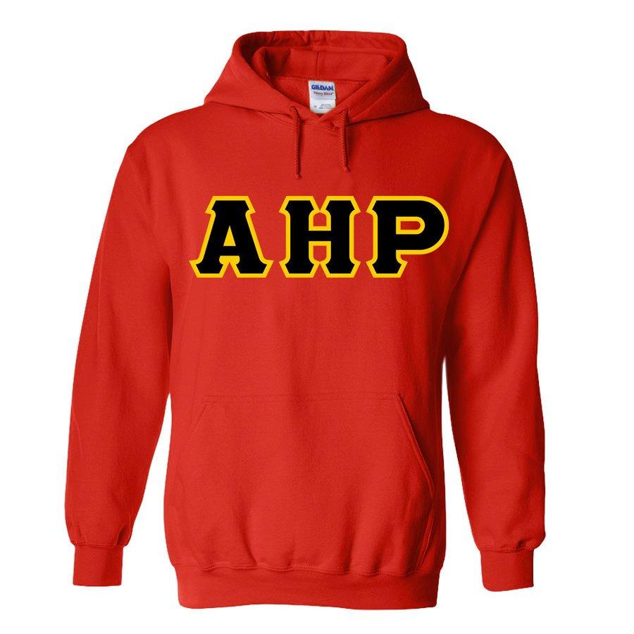 Alpha Eta Rho Lettered Hooded Sweatshirts