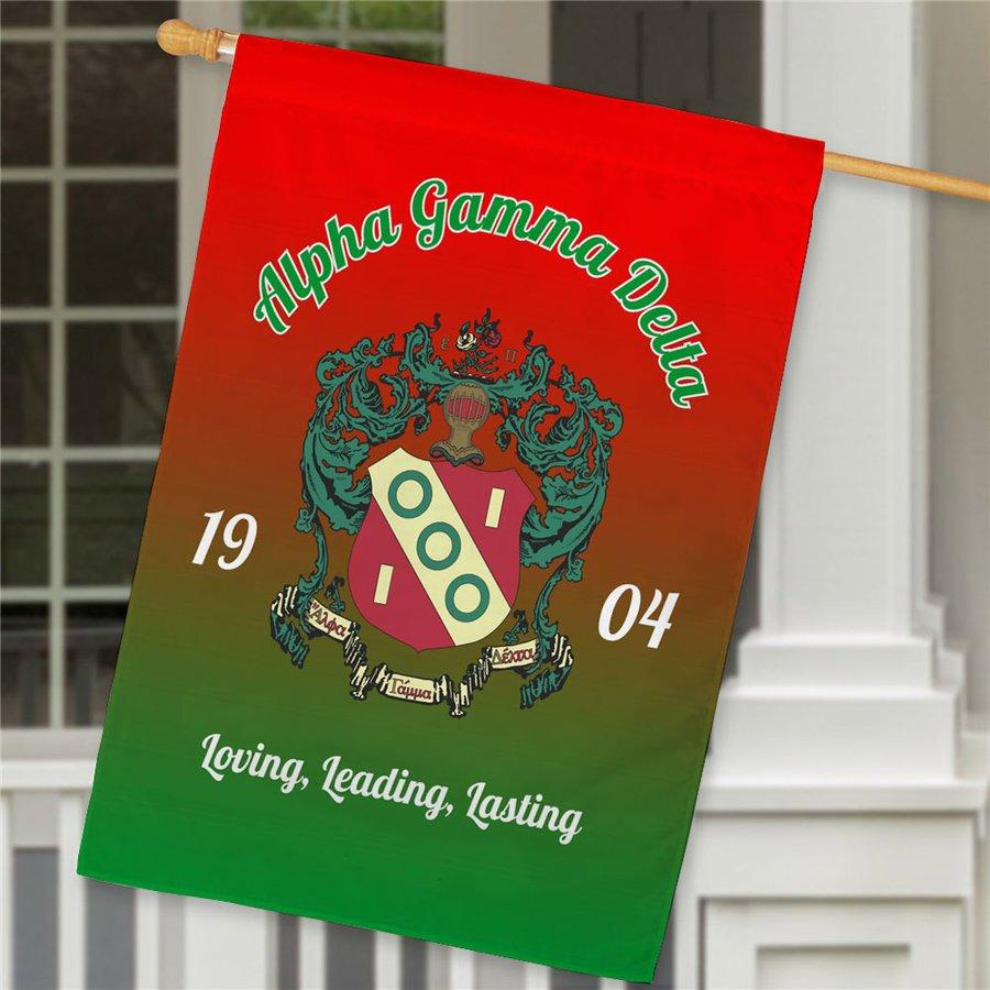 Alpha Gamma Delta House Flag