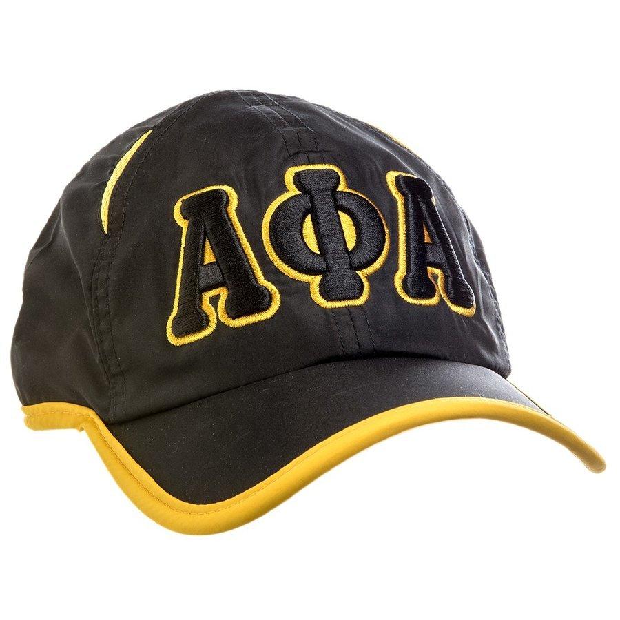 Alpha Phi Alpha Fraternity 3 Letter Featherlight Cap
