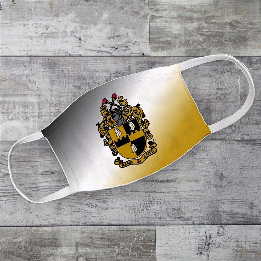 Alpha Phi Alpha Super Crest Face Masks