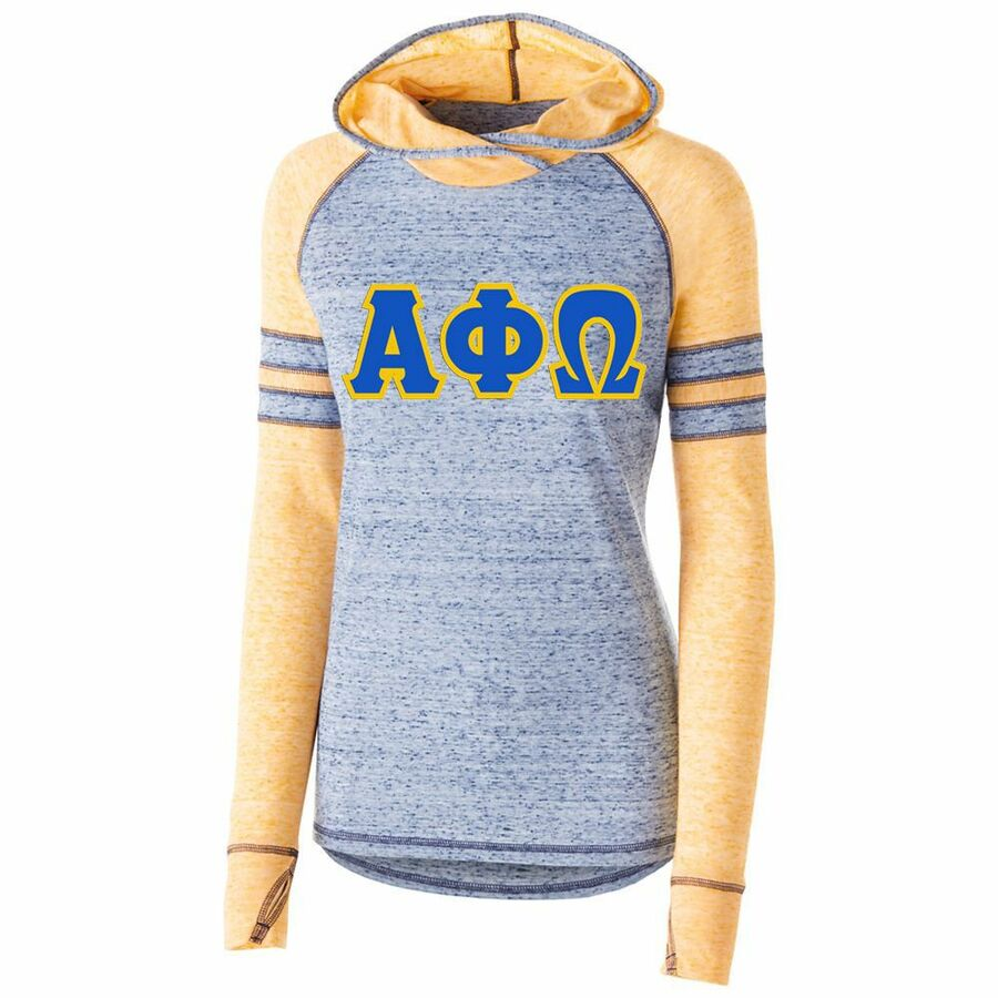 DISCOUNT-Alpha Phi Omega Advocate Lettered Hoody