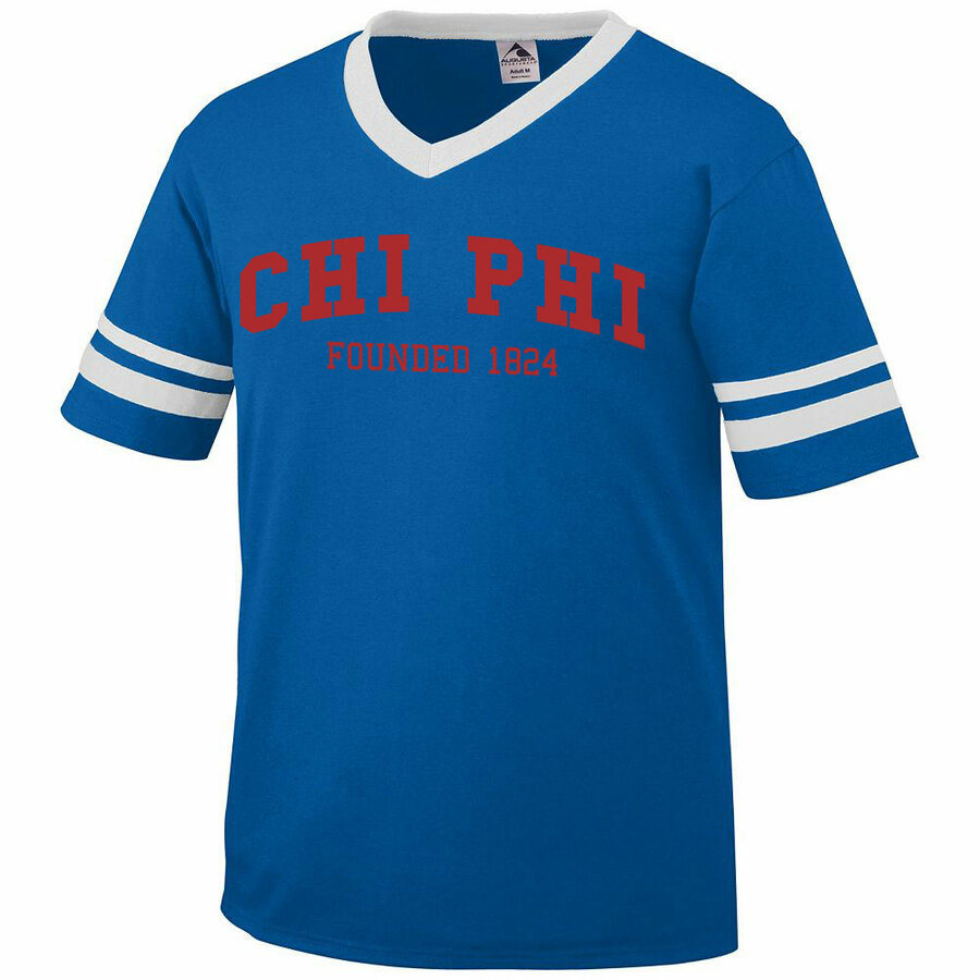 Chi Phi Founders Jersey