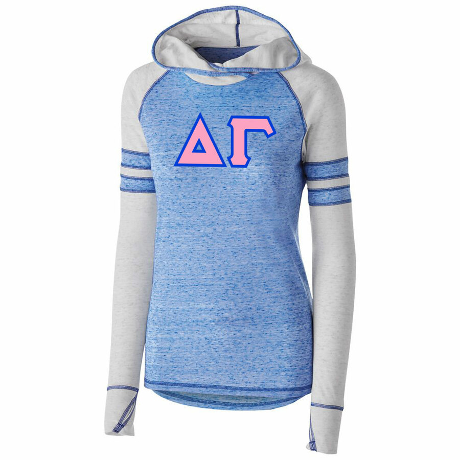 DISCOUNT-Delta Gamma Advocate Lettered Hoody