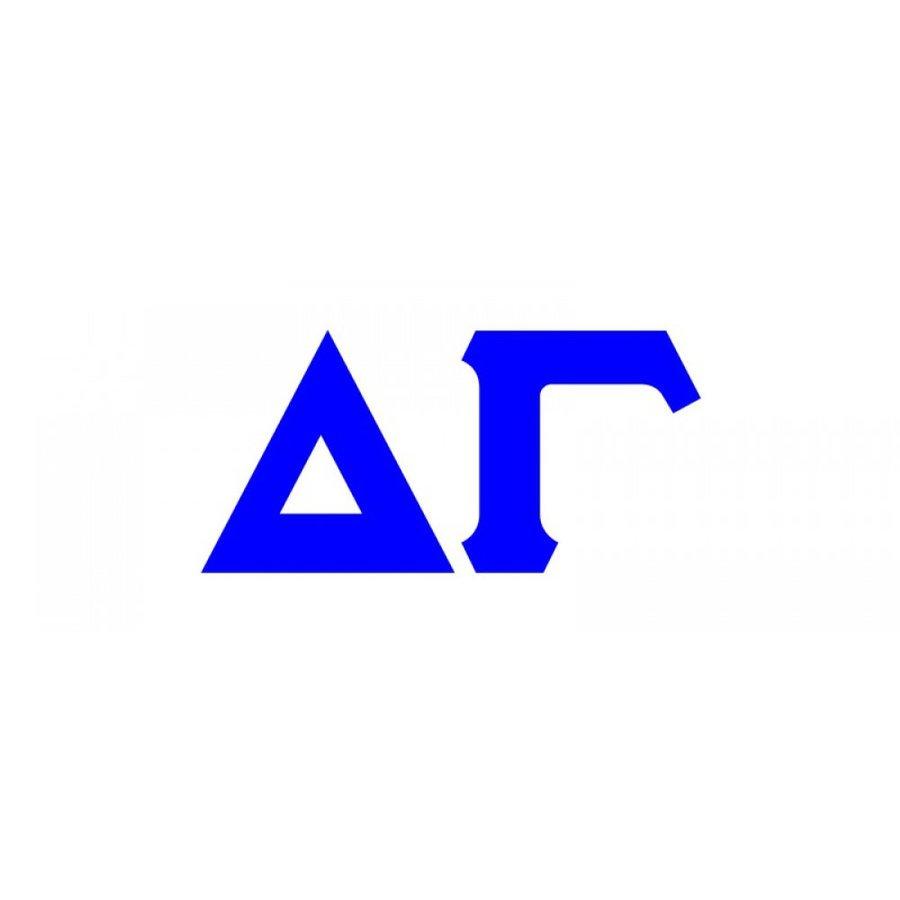 Delta Gamma Big Greek Letter Window Sticker Decal