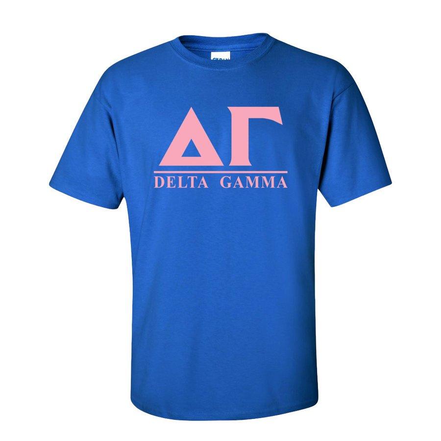 Delta Gamma Message T-Shirts