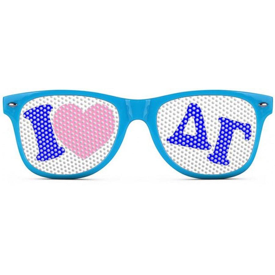 Delta Gamma Wayfarer Style Lens Sunglasses