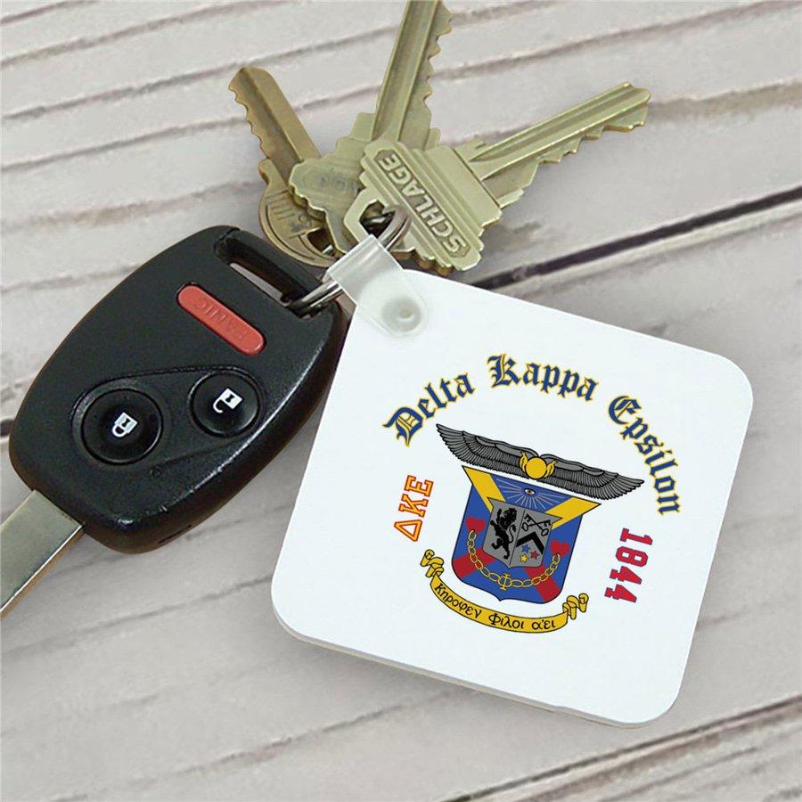 Delta Kappa Epsilon Color Keychains