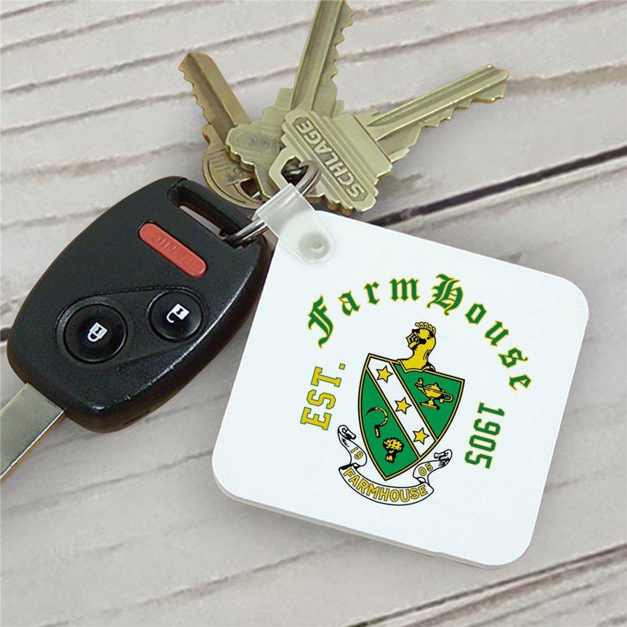 FarmHouse Fraternity Color Keychains