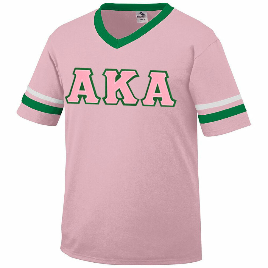 DISCOUNT-Fraternity or Sorority Jersey With Greek Applique Letters