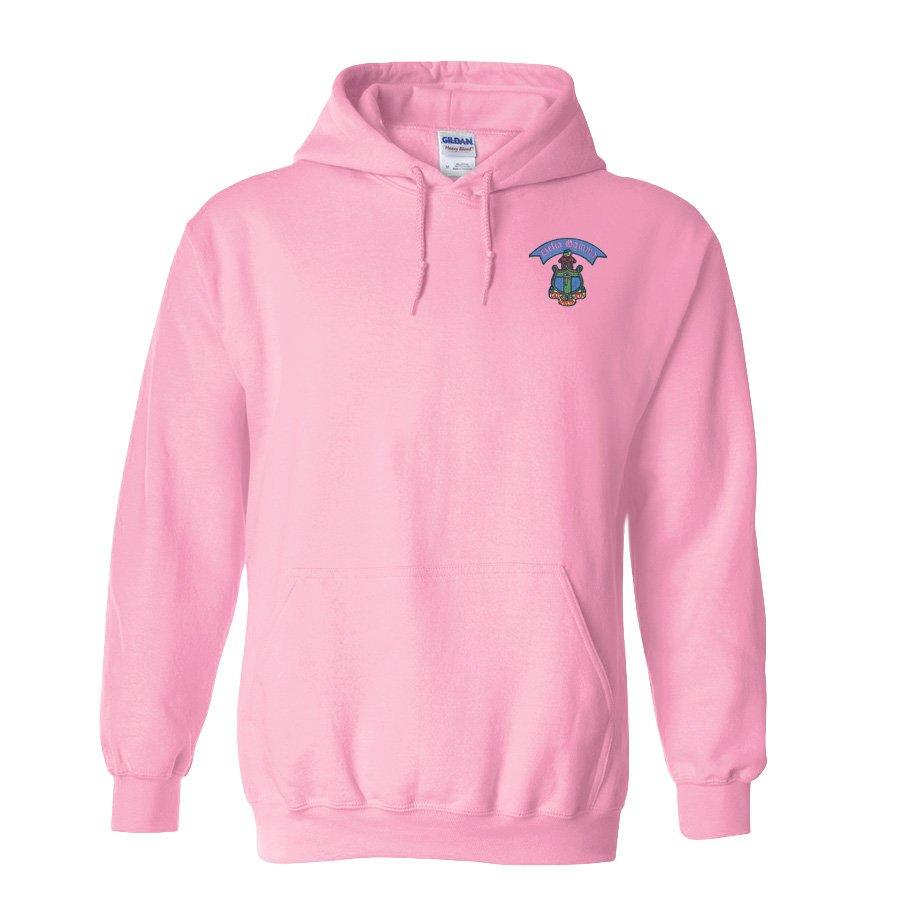 DISCOUNT-Fraternity & Sorority Greek Crest - Shield Emblem Hooded Sweatshirt