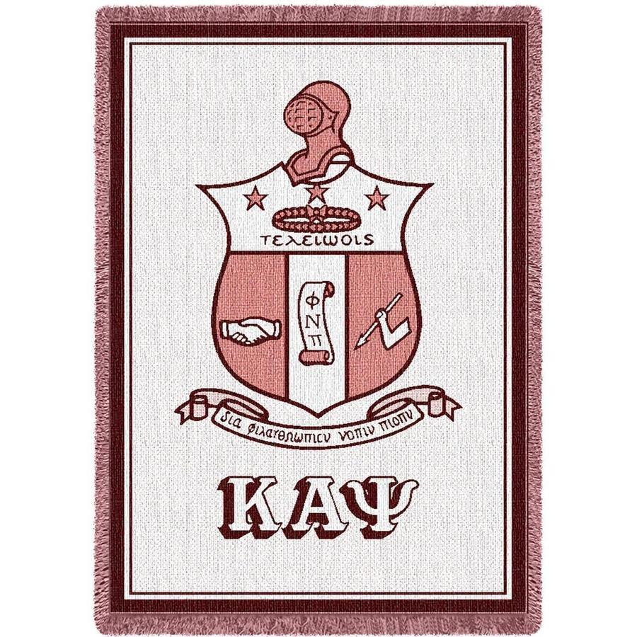 Kappa Alpha Psi Afghan Blanket Throw