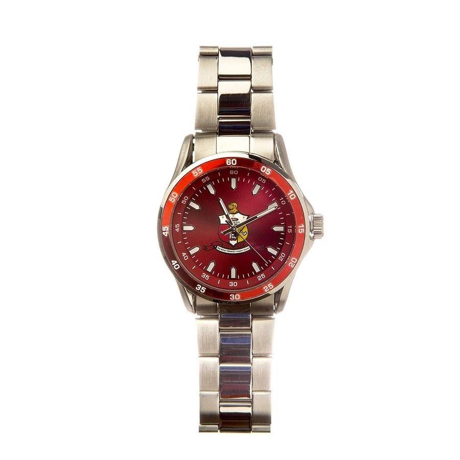 Kappa Alpha Psi Steel Watch w/ Shield