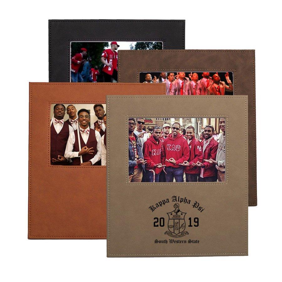 Kappa Alpha Psi Saddle Photo Frame
