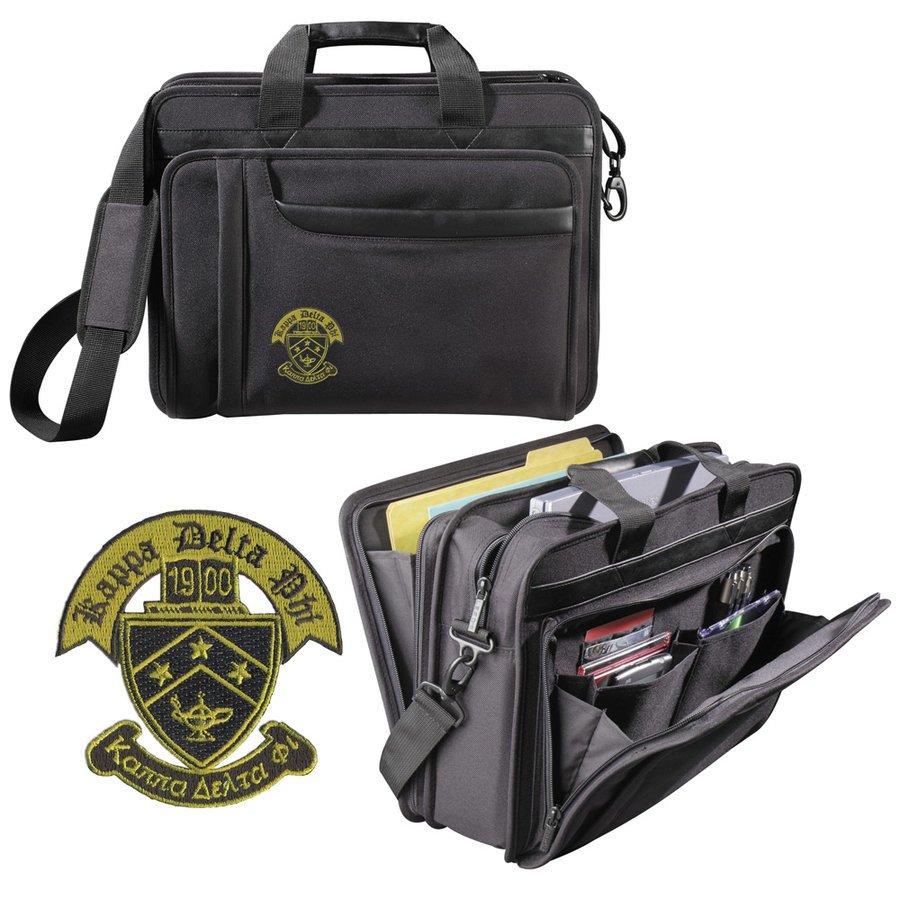 DISCOUNT-Kappa Delta Phi Crest - Shield Briefcase attache