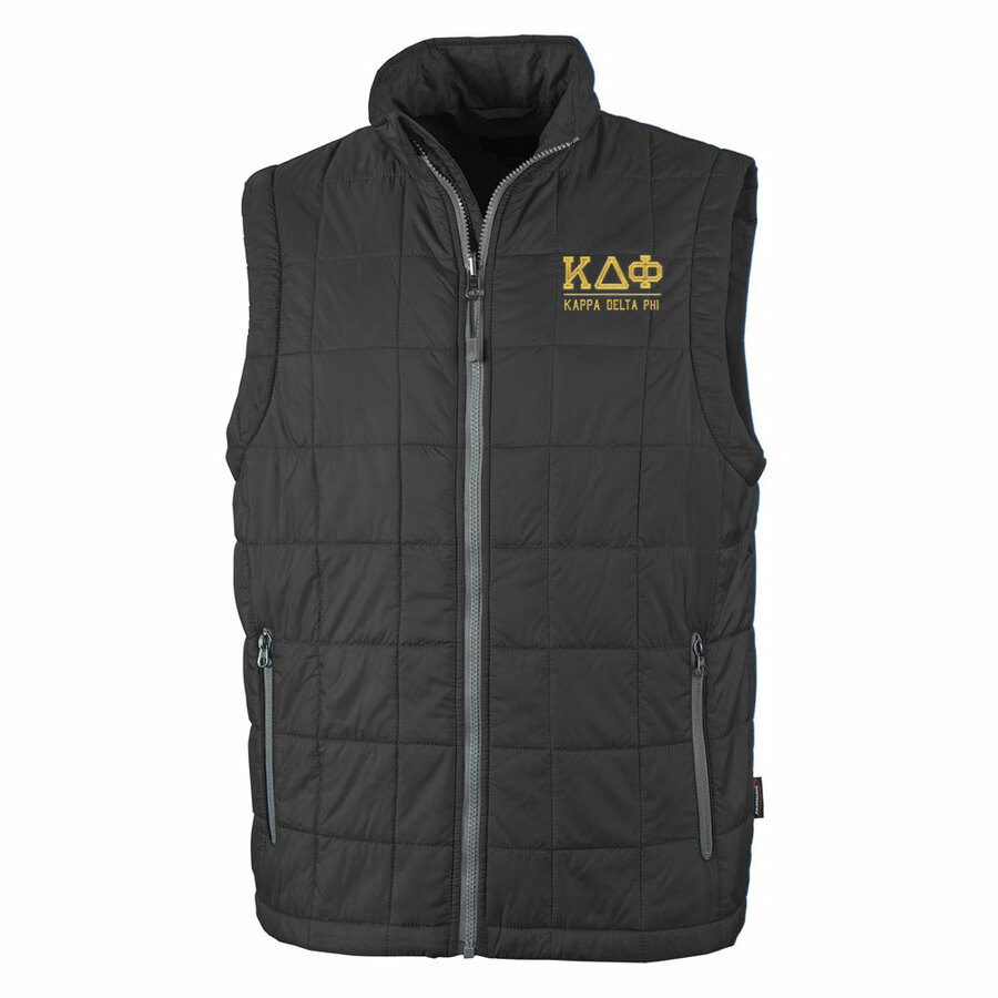 Kappa Delta Phi Fraternity Radius Quilted Vest