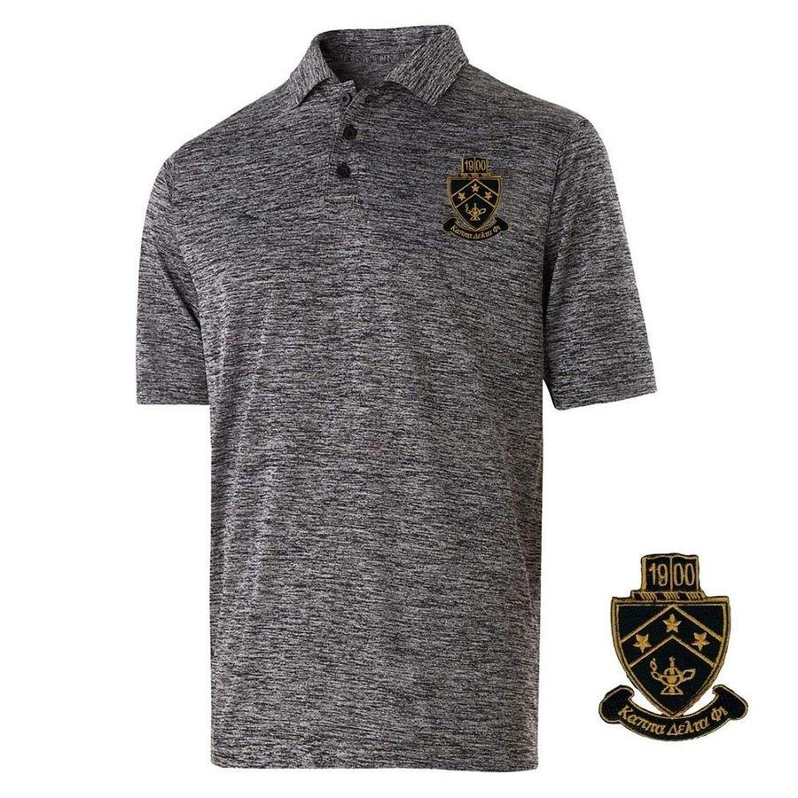 Kappa Delta Phi Greek Crest Emblem Electrify Polo