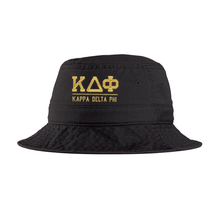 Kappa Delta Phi Greek Letter Bucket Hat