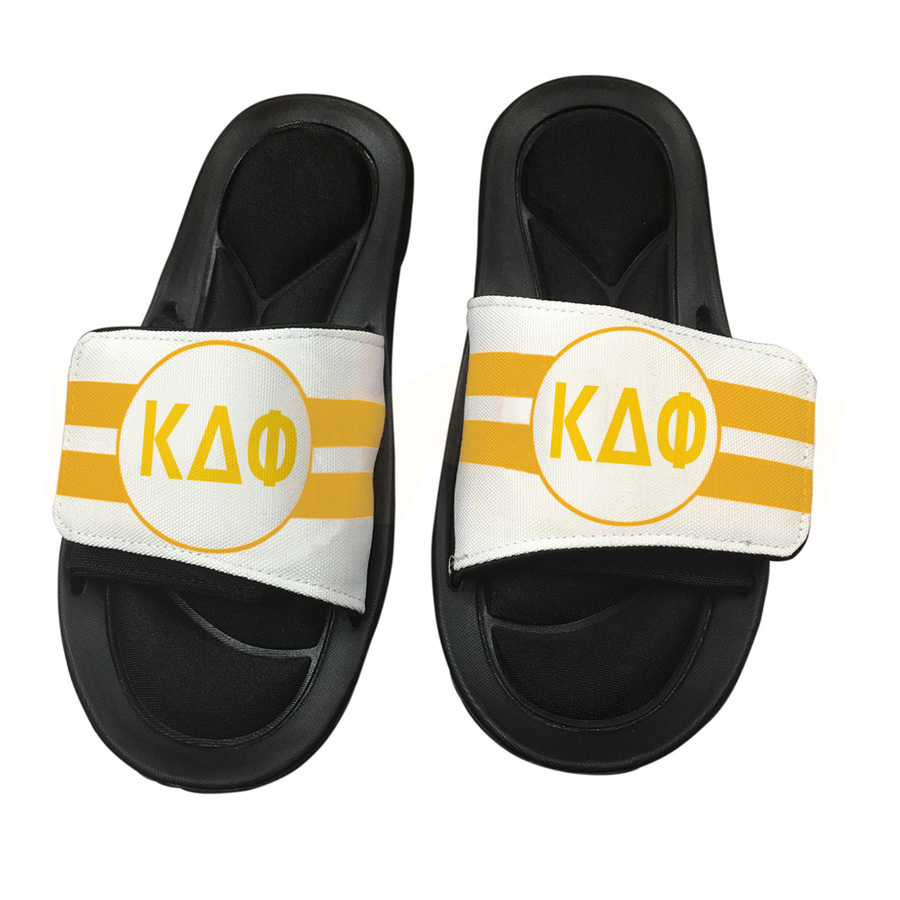 Kappa Delta Phi Slide On Circle Sandals