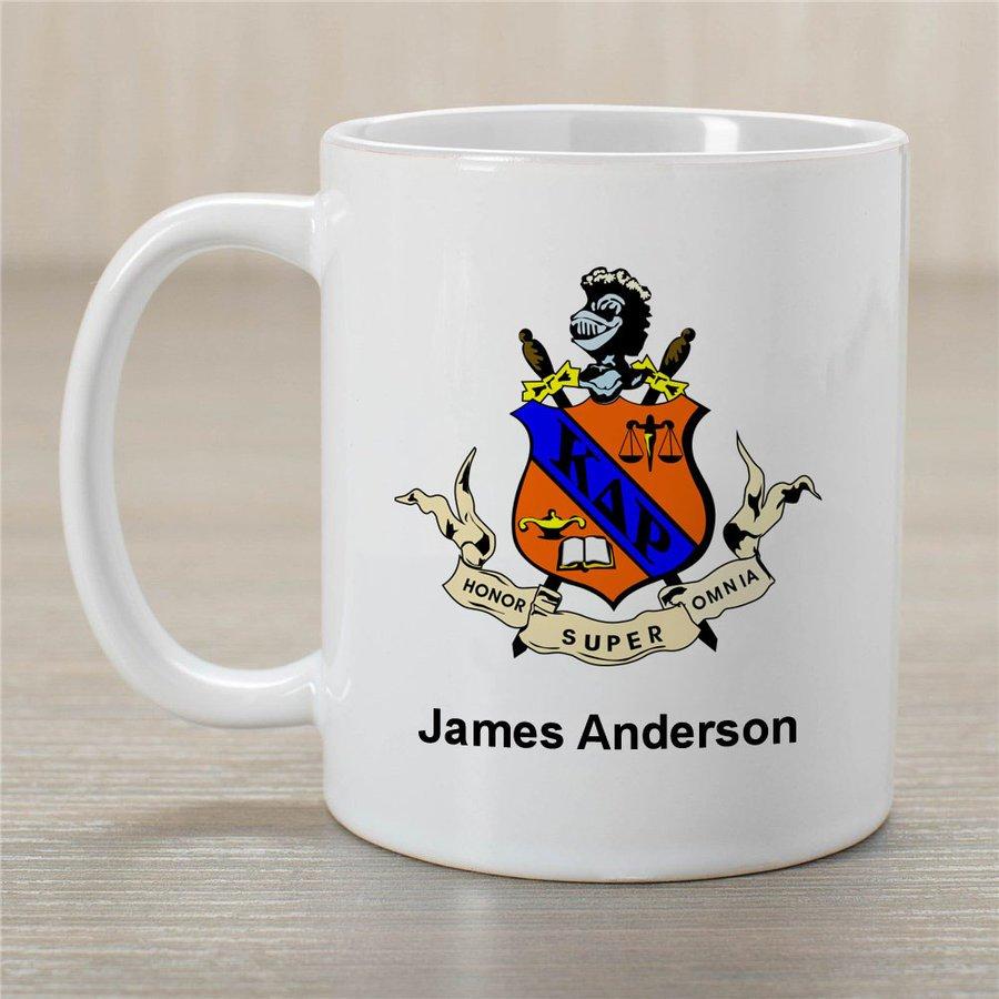 Kappa Delta Rho Greek Crest Coffee Mug - Personalized!