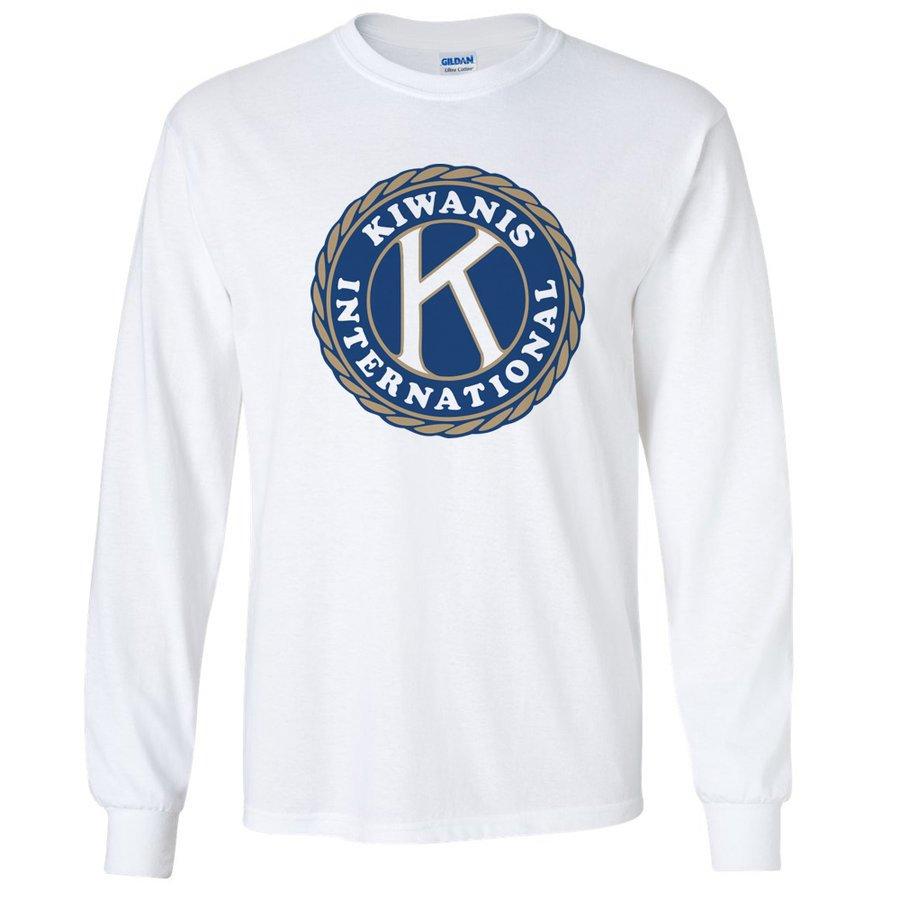 Kiwanis World Famous Long Sleeve T-Shirt- $19.95!