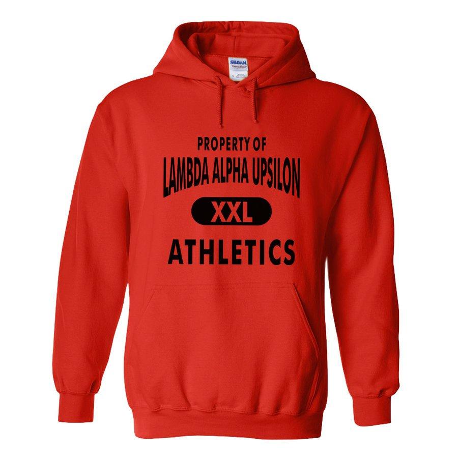 Lambda Alpha Upsilon Property Of Athletics Hoodie