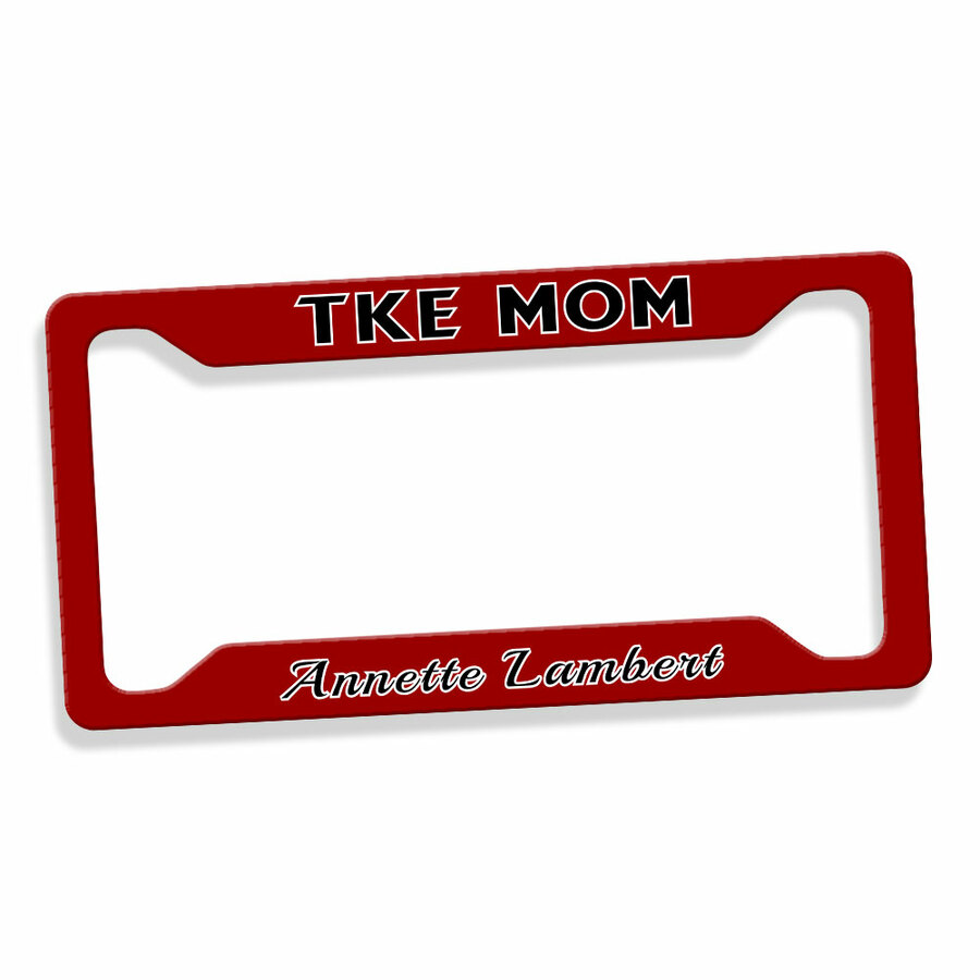 Mom Or Dad Custom License Plate Frame
