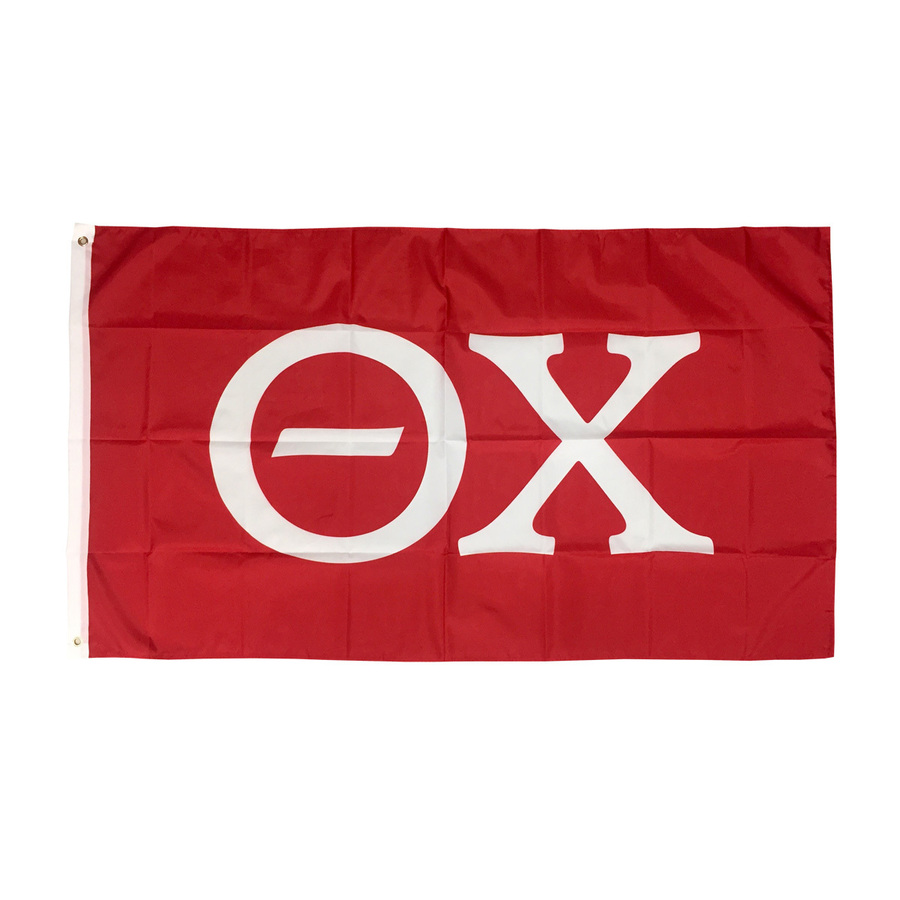 Theta Chi Big Greek Letter Flag