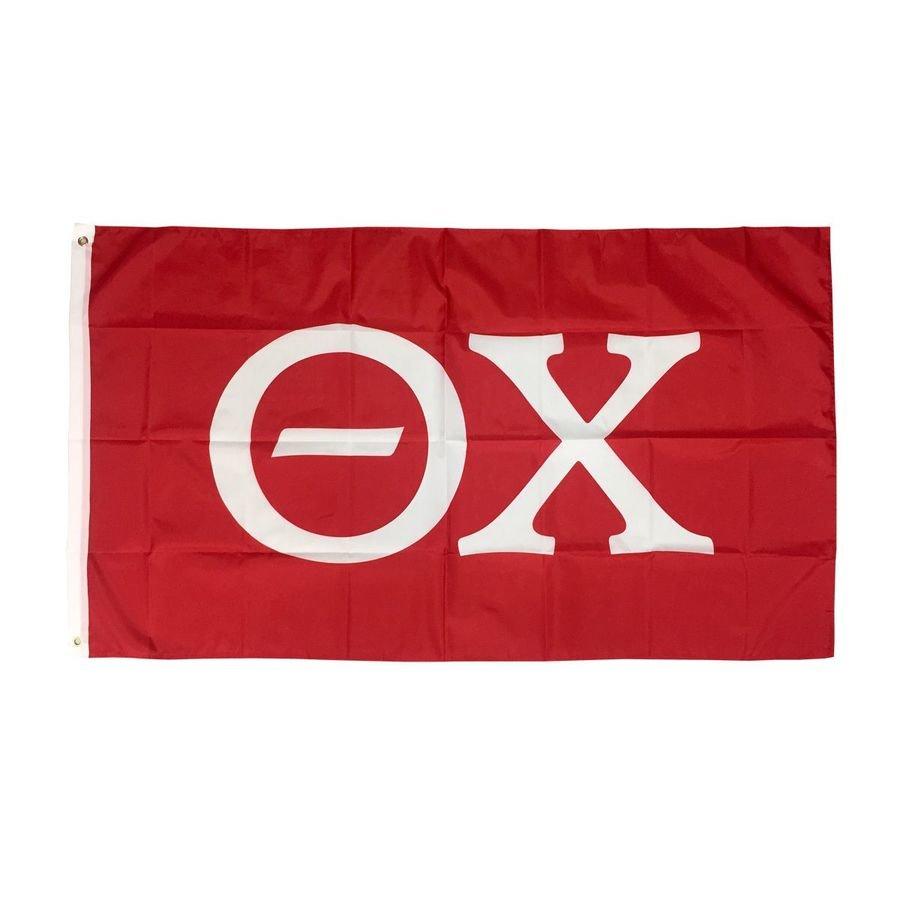 Theta Chi Big Greek Letter Flag