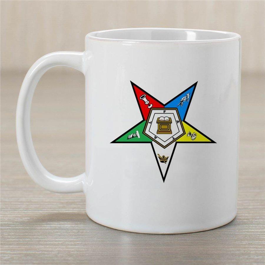 Order Of Eastern Star Coffee Mug - Personalized!