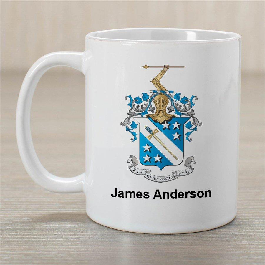Phi Delta Theta Greek Crest Coffee Mug - Personalized!
