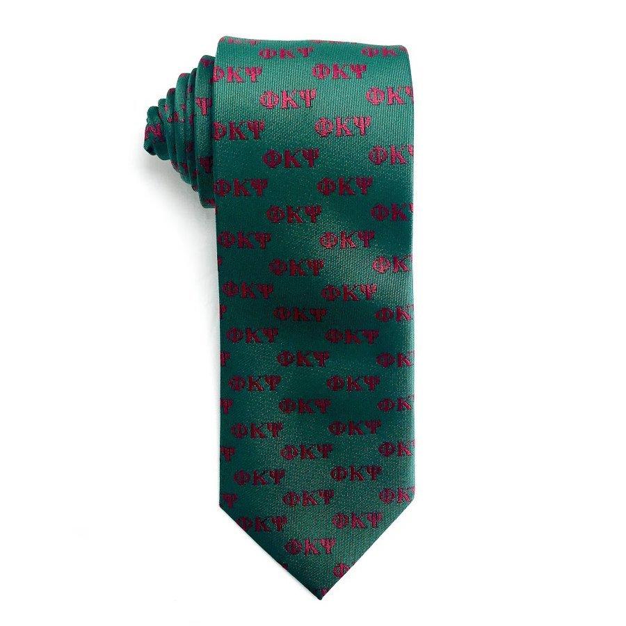 Phi Kappa Psi Lettered Woven Necktie