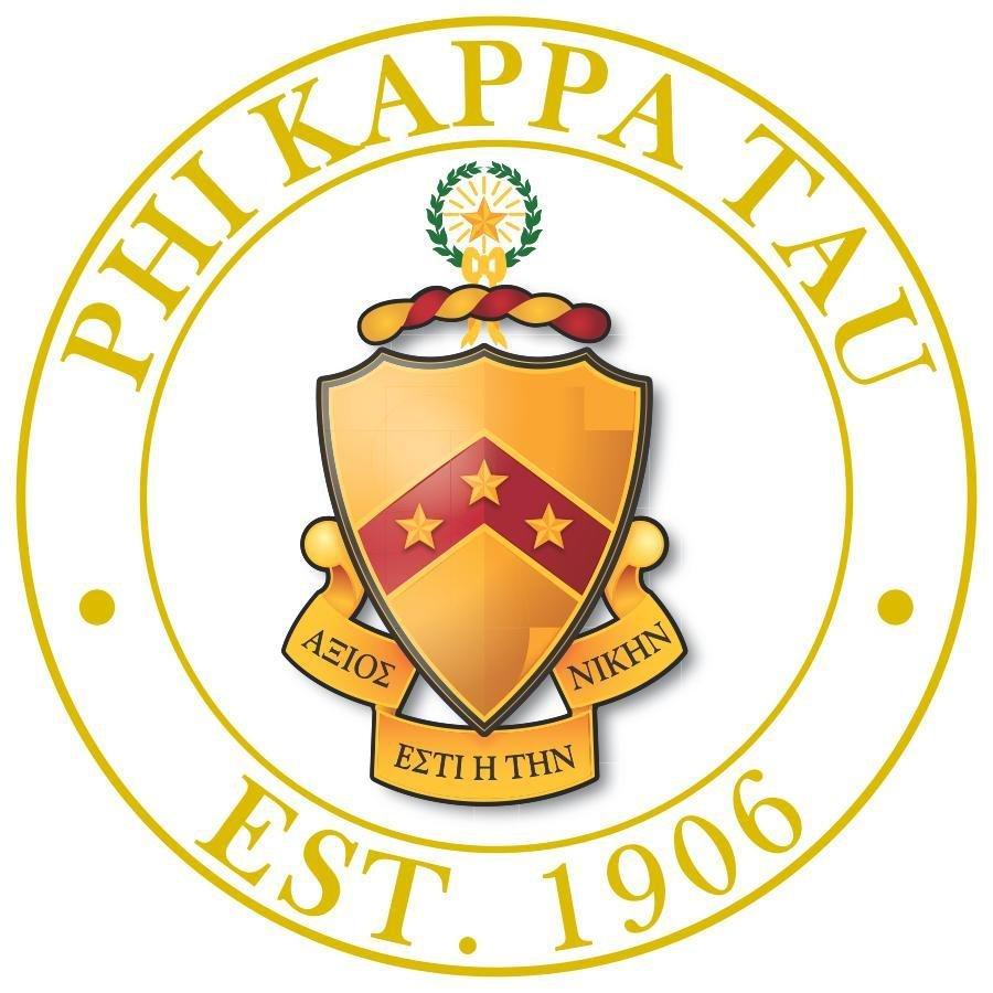 Phi Kappa Tau Circle Crest - Shield Decal