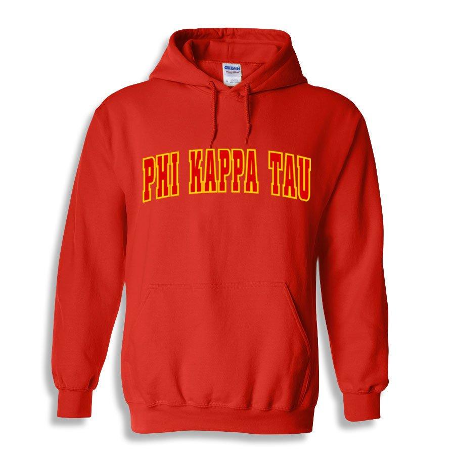 Phi Kappa Tau Letterman Twill Hoodie