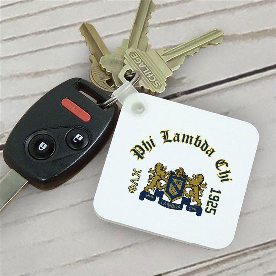 Phi Lambda Chi Color Keychains