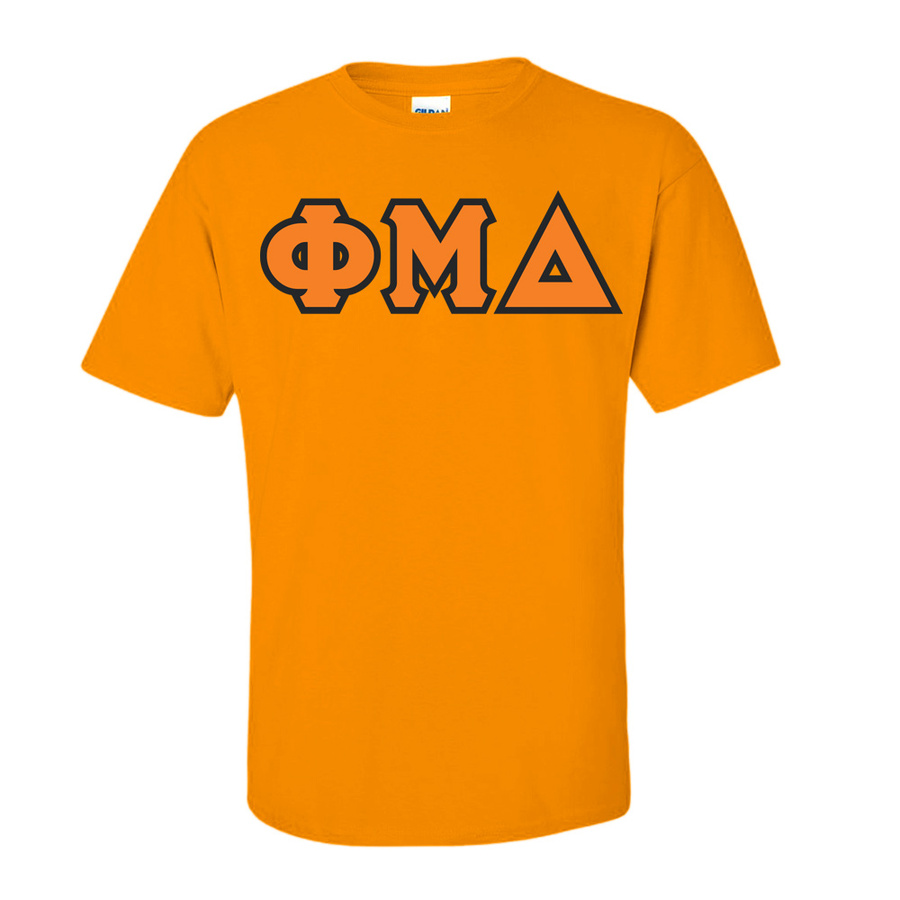 Phi Mu Delta Lettered T-Shirt