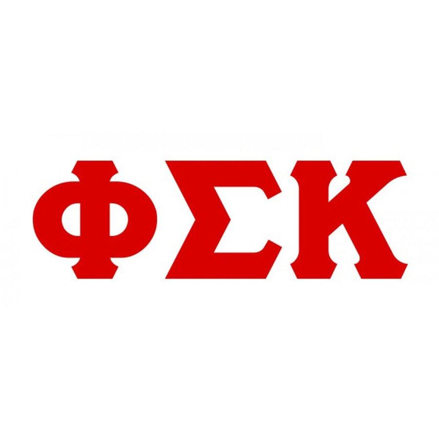 Phi Sigma Kappa Big Greek Letter Window Sticker Decal