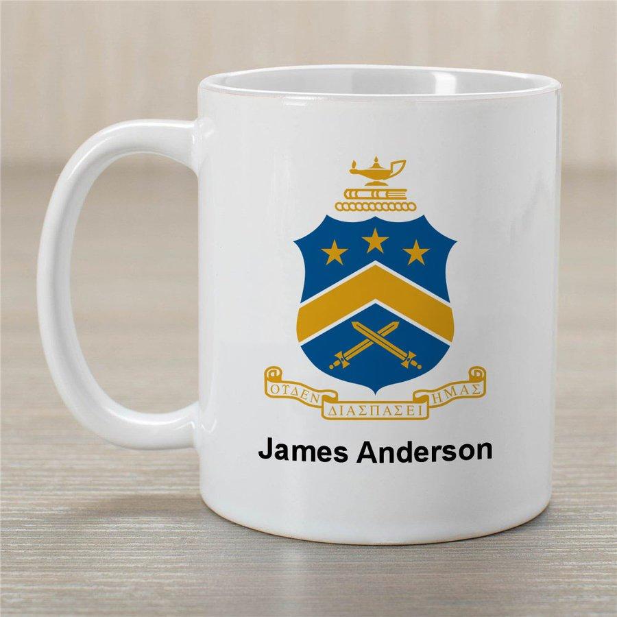 Pi Kappa Phi Greek Crest Coffee Mug - Personalized!