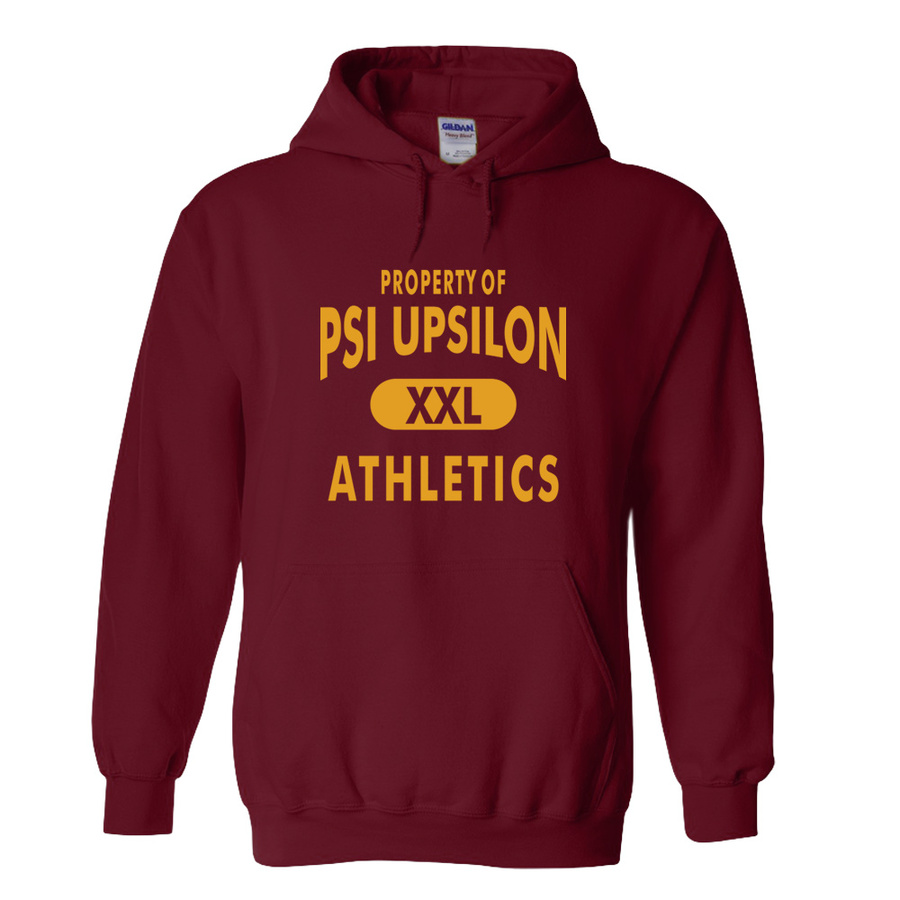 Psi Upsilon Athletics Hoodie