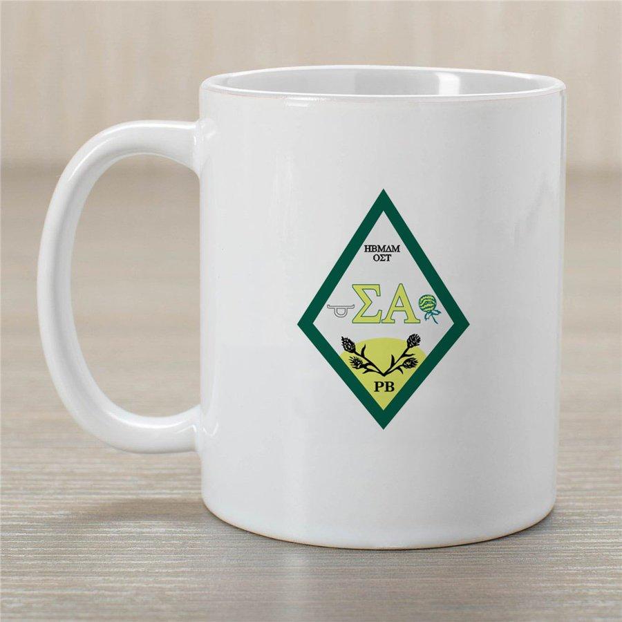 Sigma Alpha Crest Coffee Mug